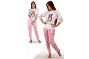 Пижама женская Сова-1 кулирка