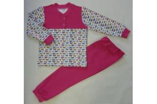 Пижама детская Бабочки футер