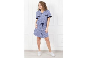 Платье-рубашка женское Ритм-1 кулирка