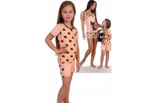 Пижама детская №1869 кулирка