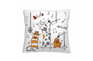 Подушка-думочка Веселые коты