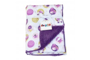Плед детский Shapito by Giovanni Фиолетовый флис
