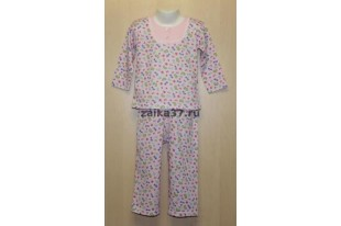 Пижама детская Полинка кулирка