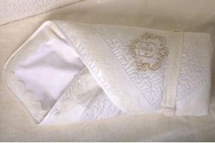 Одеяло-конверт на выписку Инфанты герб Арт. 1001 зима