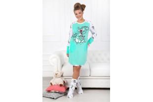 Туника-сорочка женская Кролик-1 кулирка