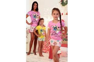 Пижама детская №5021 кулирка