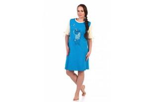 Платье женское 208ХГ1634П кулирка