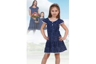 Платье детское №5010 кулирка