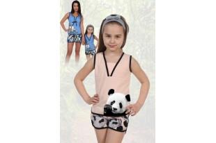 Пижама детская №5011 кулирка