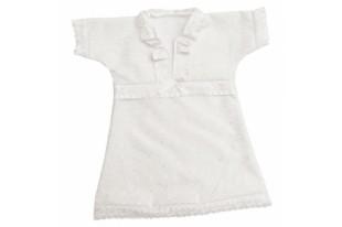 Платье крестильное детское 0175 смесовая