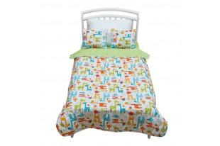 Комплект Safari Kids покрывало+подушки бязь