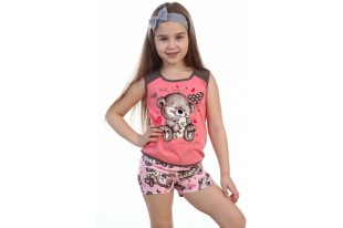 Пижама детская №5000 кулирка