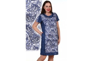 Платье женское №1162 кулирка