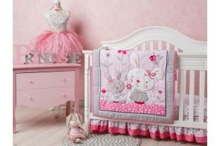 Комплект для кроватки Bonny bunny поликоттон 7 предметов