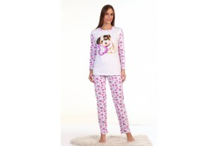 Пижама женская Лаки футер