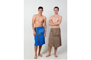 Полотенце-накидка на липучке мужское махра