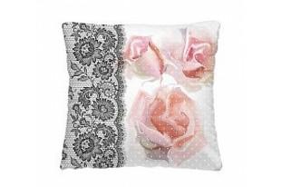 Подушка-думочка Ажурные розы
