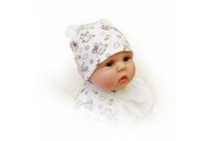 Колпак-шапочка детская Ми-мишки 01392 интерлок-пенье