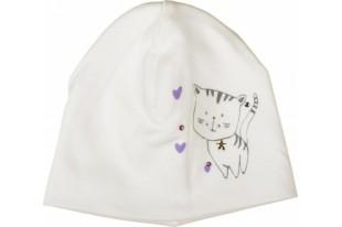 Шапочка детская Кошки 01-06-022 интерлок