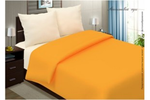 Постельное белье Апельсиновый мусс поплин