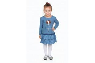 Платье детское Кокетка кулирка