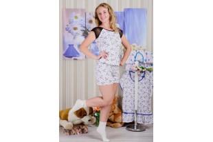 Пижама женская r 56 кулирка