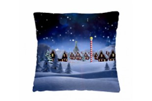 Подушка-думочка Зимний вечер