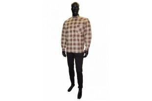 Рубашка мужская Гиганты фланель