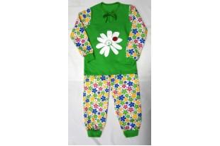 Пижама детская  Ромашка  футер