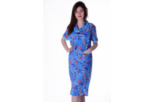 Платье женское бязь Малина