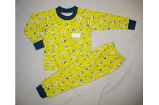 Пижама детская футер набивной