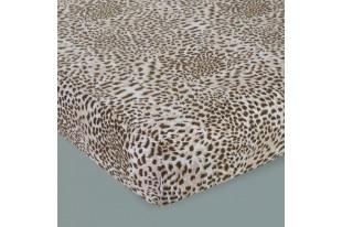 Простыня детская Леопард трикотаж