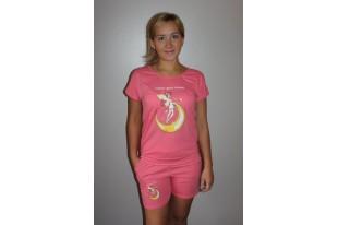 Пижама женская П723.4 кулирка