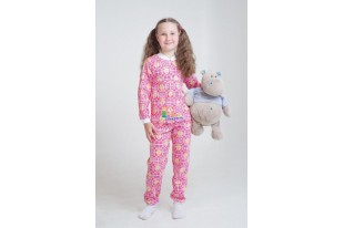 Пижама детская Кнопка кулирка