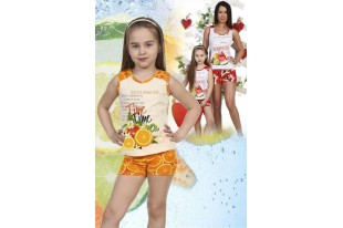 Пижама детская №5012 кулирка