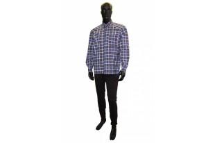 Рубашка мужская длинный рукав бязь