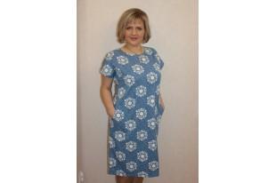 Платье женское П682.4 кулирка