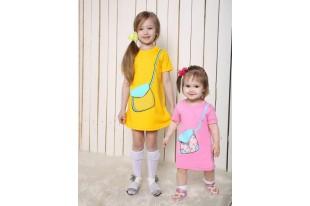 Платье детское Сумочка интерлок
