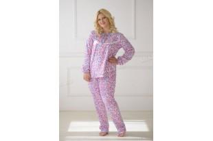 Пижама теплая футер 0045