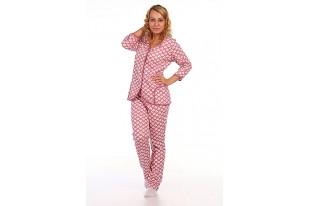 Пижама теплая футер  с начесом ПЖ-38