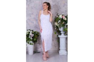 Платье женское П 214 вискоза белое